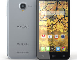 Alcatel One Touch Fierce 3D Model
