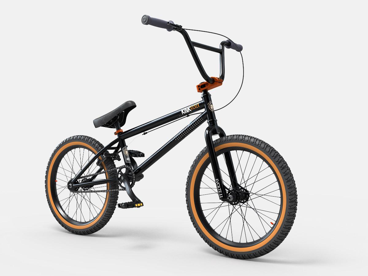 Kink Kicker Bmx Bike 2014 3d Model Max Obj 3ds Fbx