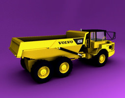 Articulated Truck  3D Model