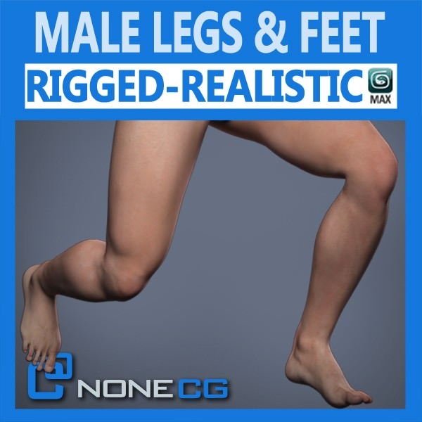 Adult Male Legs and Feet