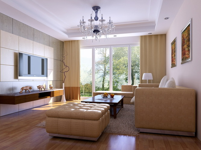3d model drawing room with wall decor and sofa cgtrader for 3d bedroom drawing