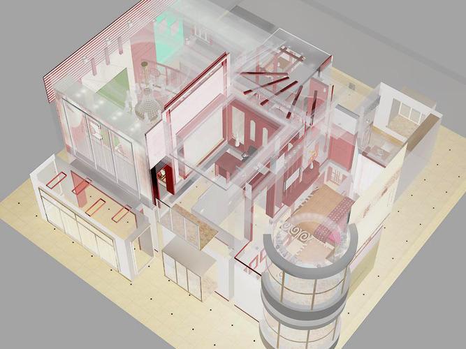 Duplex House3D model