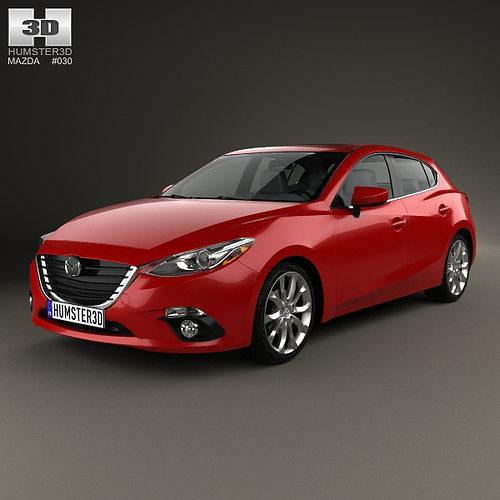 2008 Mazda 3 For Sale 1 6m Obo: Mazda 3 Hatchback 2014 3D
