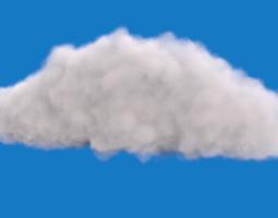 3D model Realistic Cloud
