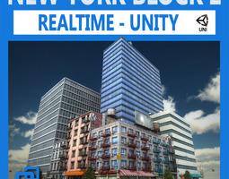 NYC Block 2 Unity 3D Model