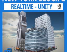 NYC Block 1 Unity 3D Model