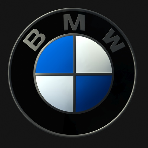 Bmw Logo 3d Model Game Ready Max Cgtrader Com