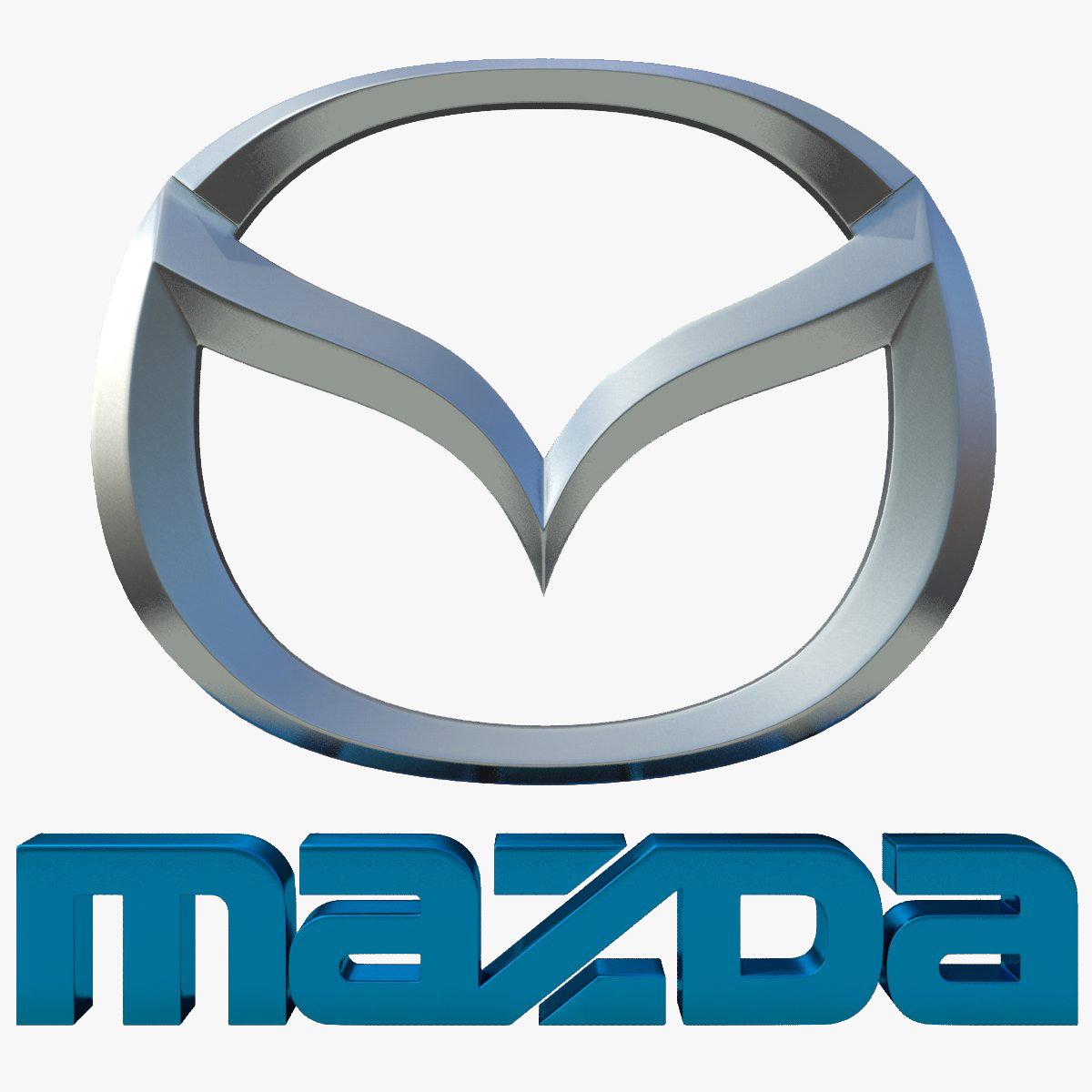 Mazda Logo 3d Model Max Obj 3ds Fbx Cgtrader Com