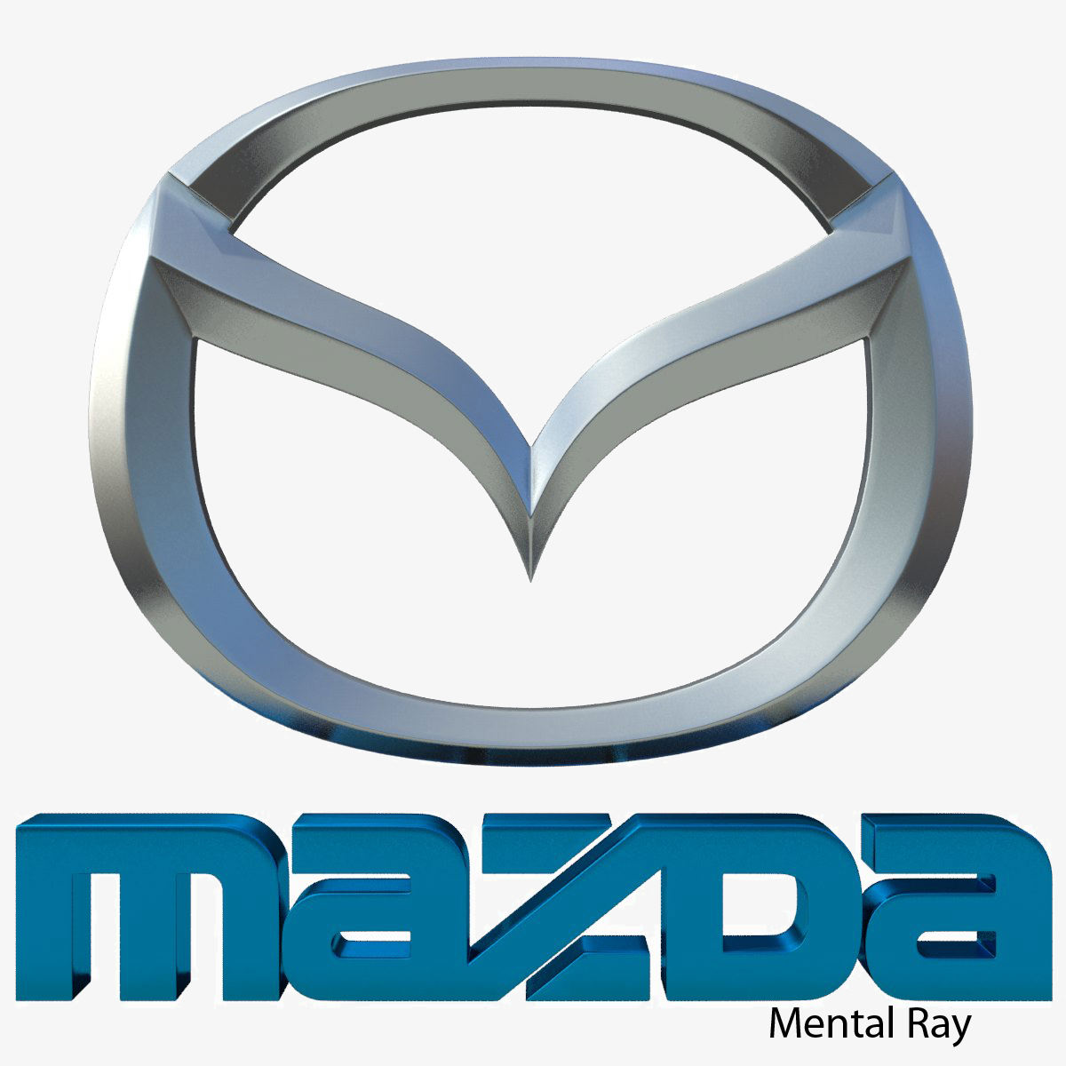 Kitchen Designers Jobs Mazda Logo 3d Model Max Obj 3ds Fbx Cgtrader Com