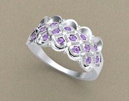 jewellery Ring 3D printable model