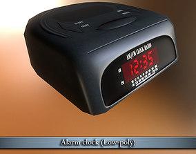 3D asset PBR Alarm clock