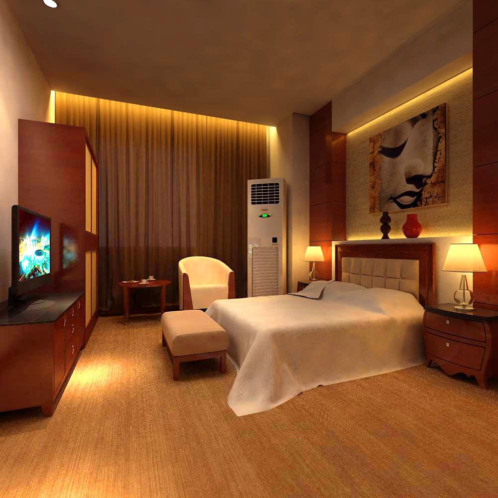 Guest Room 032 3d Model Max