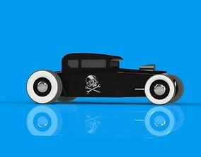 3D car HotRod Toy