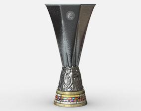 UEFA Europa League Cup Trophy 3D