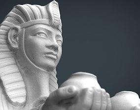 3D model Egyptian Sphinx