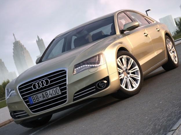 Audi A8 20103D model