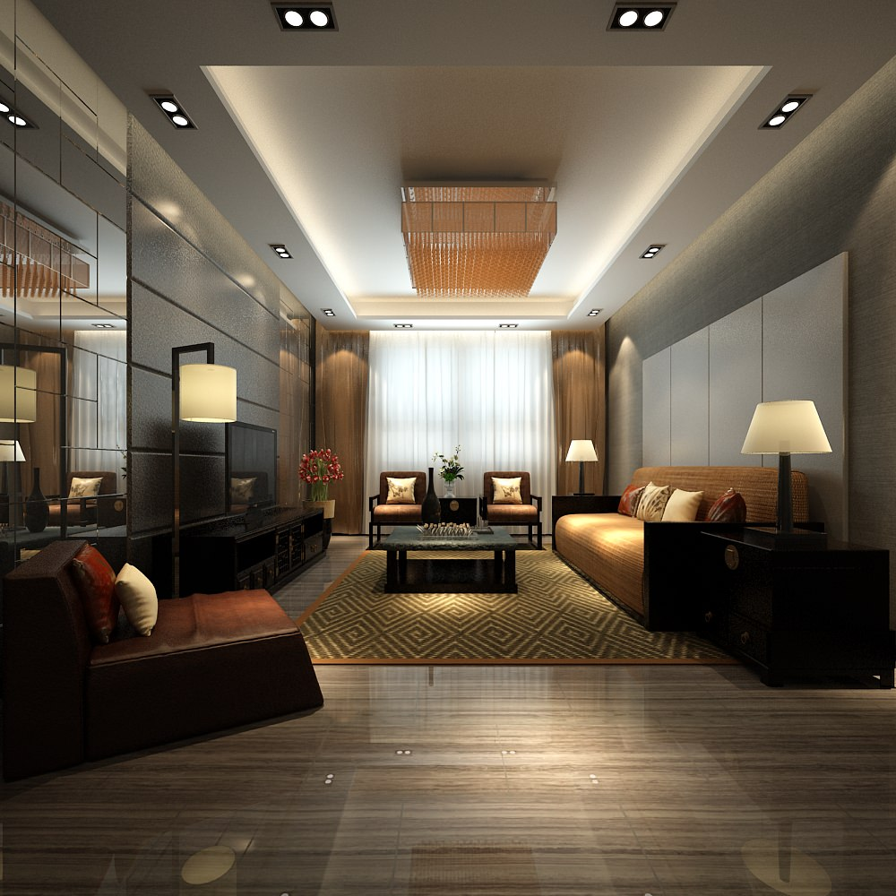 Modern living room mirror modern house for Living room mirrors