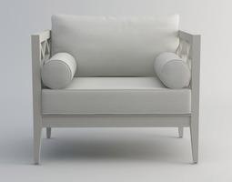 living Pavilion VI sofa 3d model