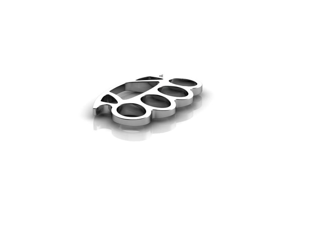 3d model brass knuckles silver pendant cgtrader brass knuckles silver pendant 3d model stl 2 aloadofball Image collections