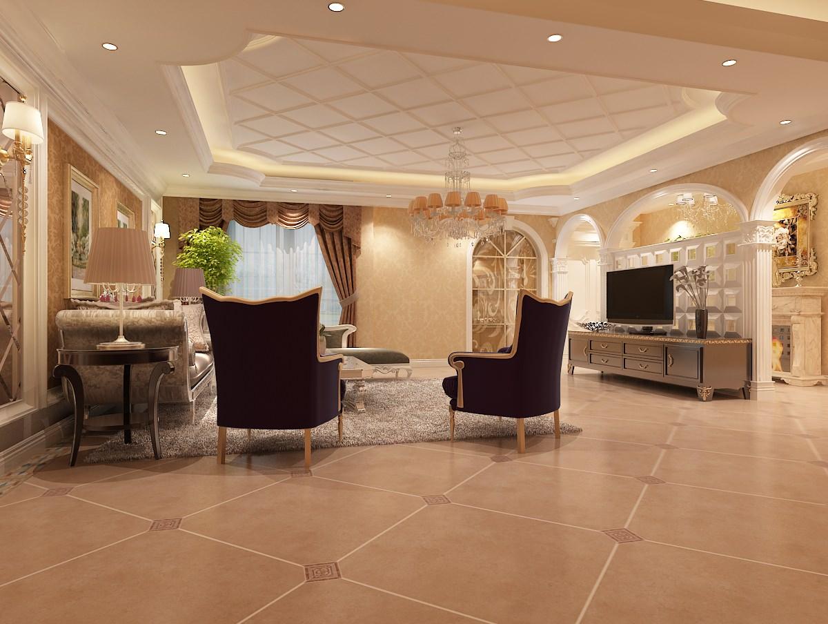 modern cozy living room 3d model max. Black Bedroom Furniture Sets. Home Design Ideas