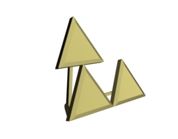 3D printable model Triforce Meme