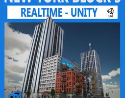 NYC Block 3 Unity 3D Model
