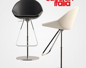 modern Cattelan Italia Kiss 3D model
