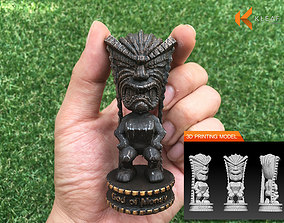 Hawaii TIKI - God of Money 3D print model