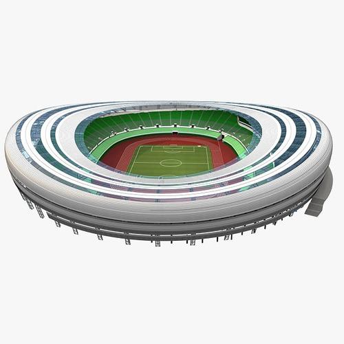 Football Stadium 013D model