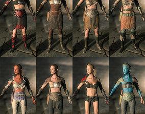 RPG Barbarian Pack PBR 3D model