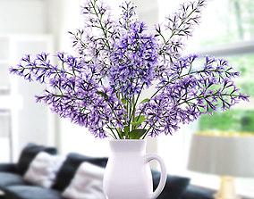 Lavender dev 3D model