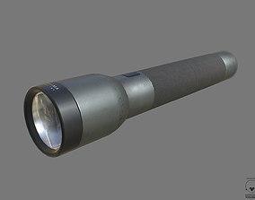 Flashlight PBR 3D asset