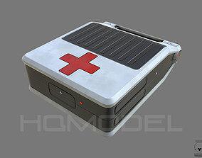 3D model First Aid Case PBR Sci-Fi