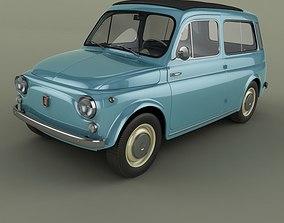 3D Fiat 500 Jardiniere