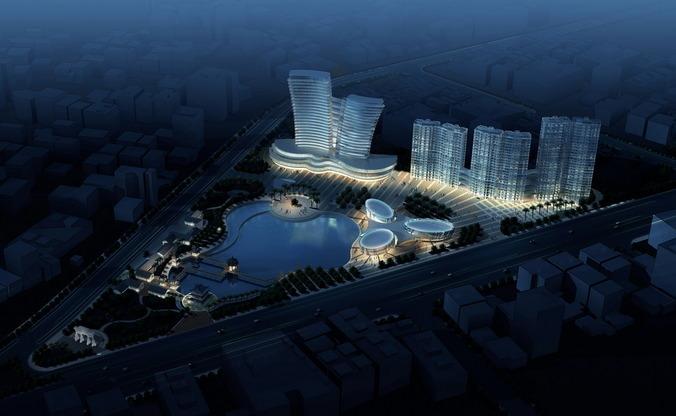 Aristocratic Cityscape3D model