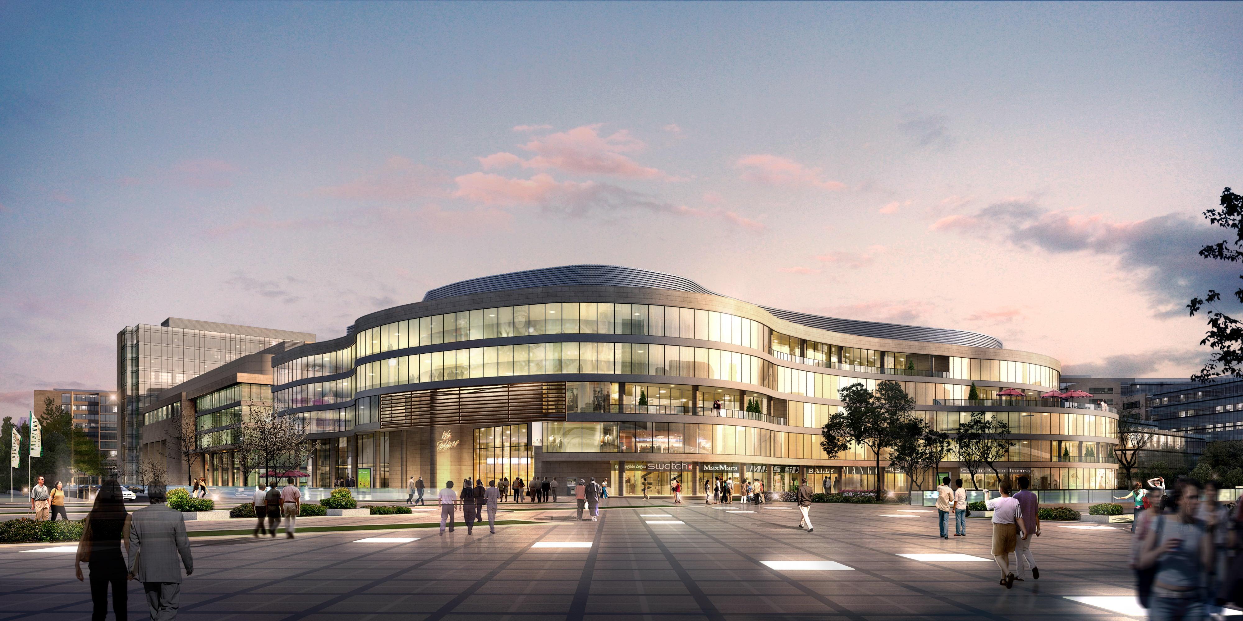 Big And Modern City Shopping Mall 3D Model max CGTradercom