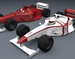 Formula 1 Car Type 3D Models 3D Model