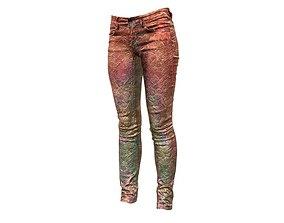 Unreal Pants Red Rock 3D model