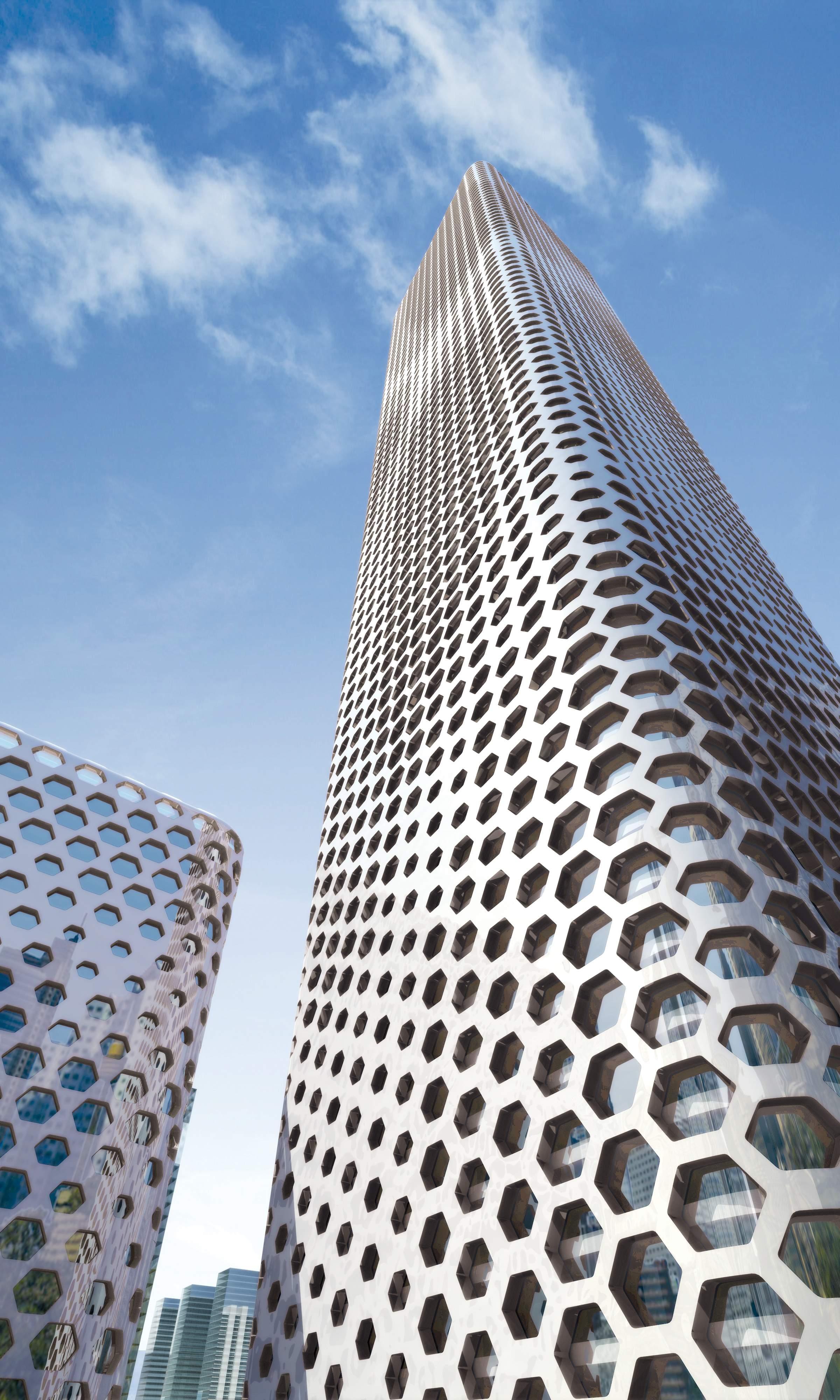 Modern Skyscraper 3D Model MAX | CGTrader.com