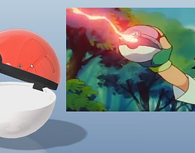 Pokeball - printable model possible to open