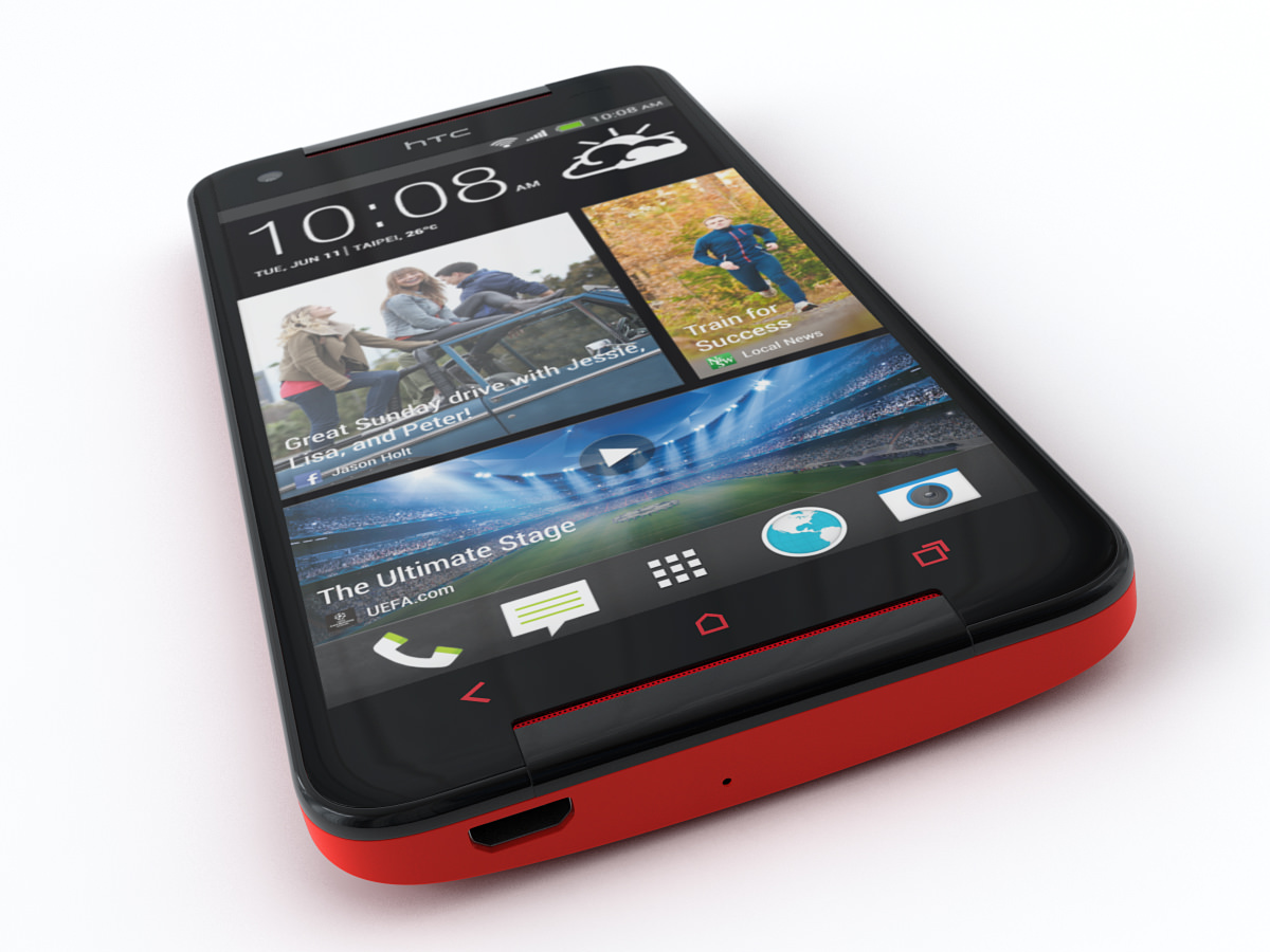 HTC Butterfly S 3D Model .max .obj .3ds .fbx - CGTrader.com