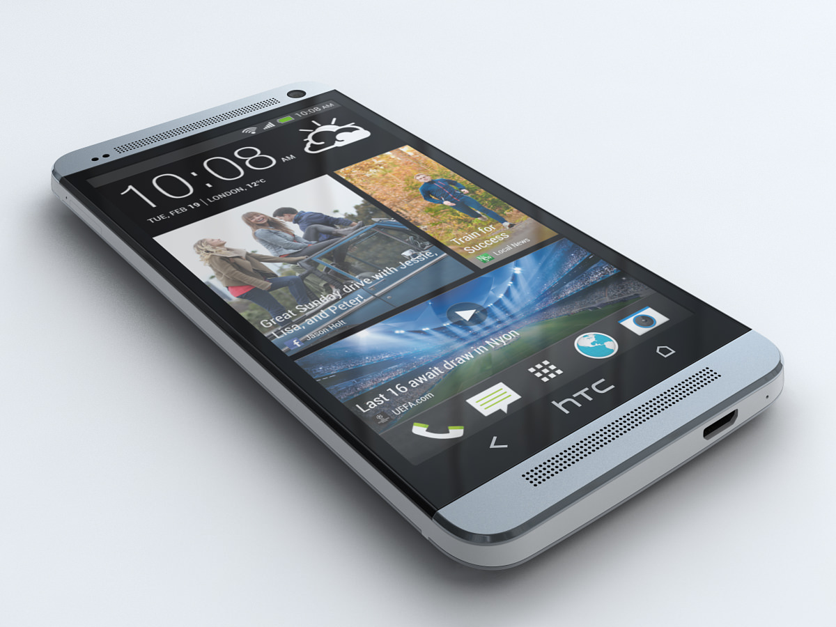 HTC ONE 3D Model .max .obj .3ds .fbx - CGTrader.com