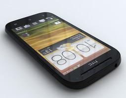 HTC One SV 3D Model
