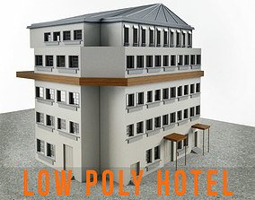 3D asset Residence Apartment Hotel Building