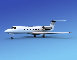 Grumman Gulfstream IV V05 3D
