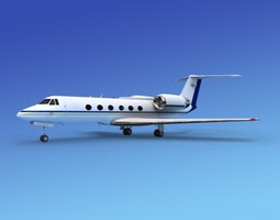 3D Grumman Gulfstream IV V12