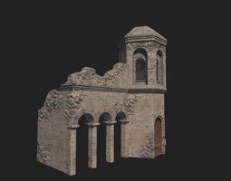 Medieval ruin 3D asset realtime