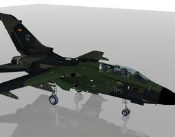 3D model Luftwaffe Tornado IDS aircraft JBG32 Squadron 2