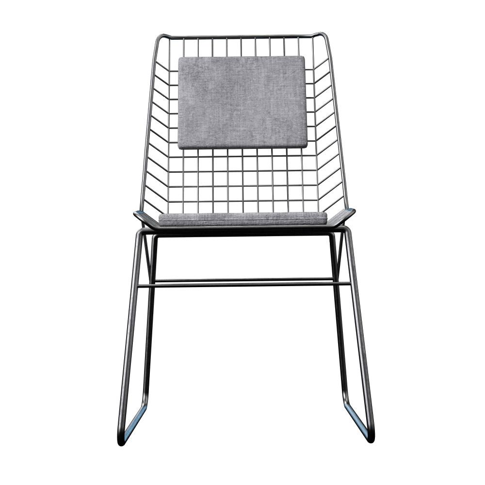 chehoma chair silla 3d model max. Black Bedroom Furniture Sets. Home Design Ideas
