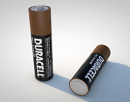 other AA Battery 3D